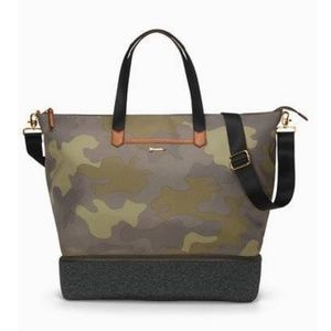 Stella & Dot Crush It Camo Print Gym Bag NEW!!!